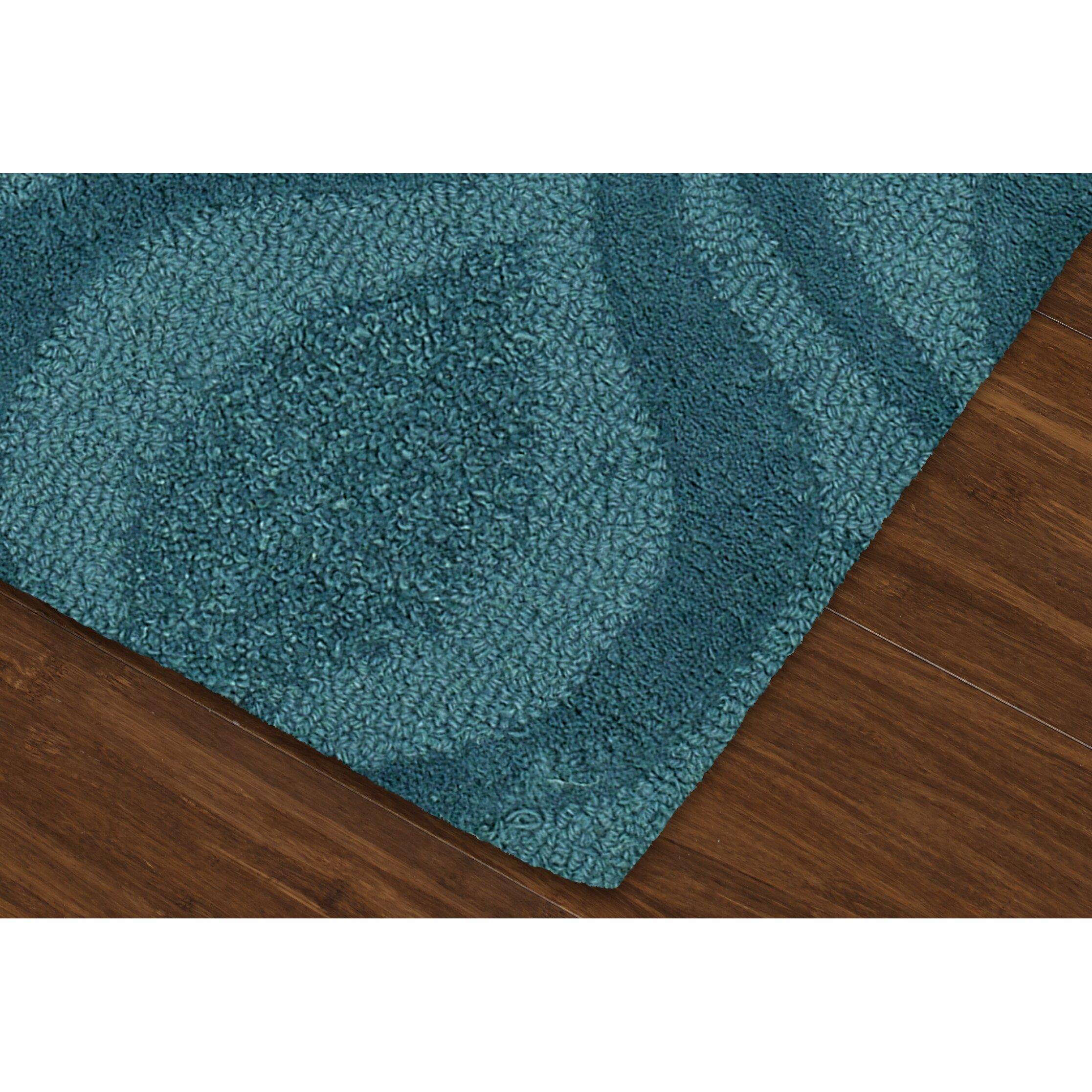 Tones Teal Area Rug