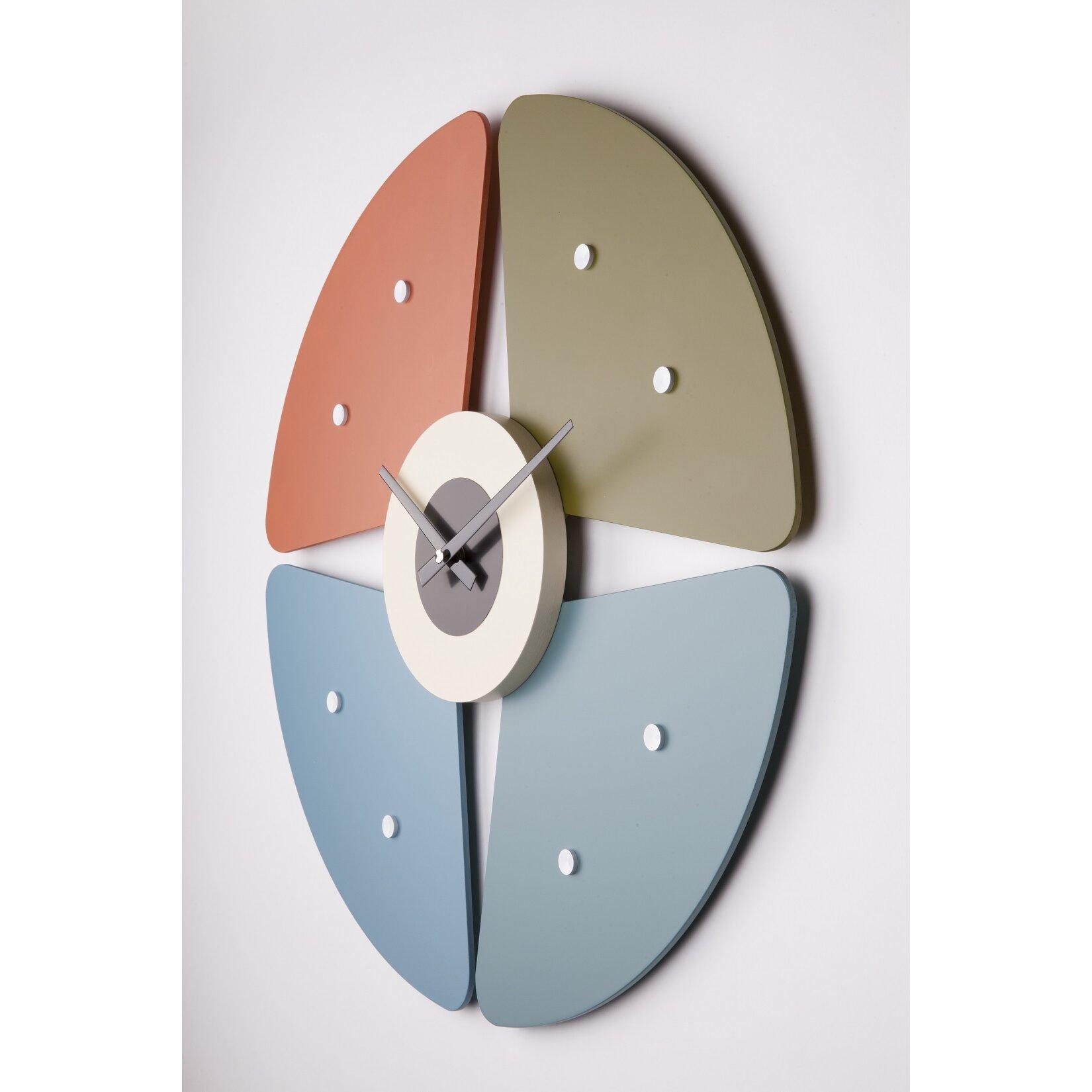"""Stilnovo 20"""" Petal Wall Clock"""