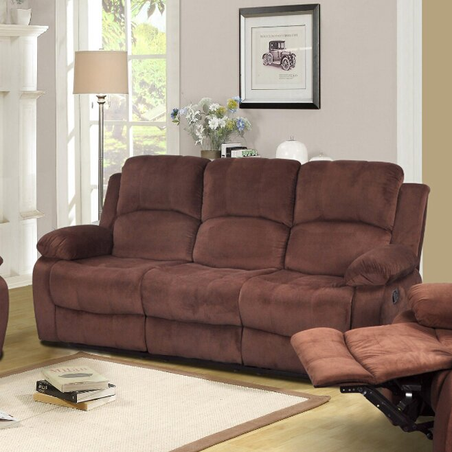 Beverly Fine Furniture Denver Reclining Sofa Reviews