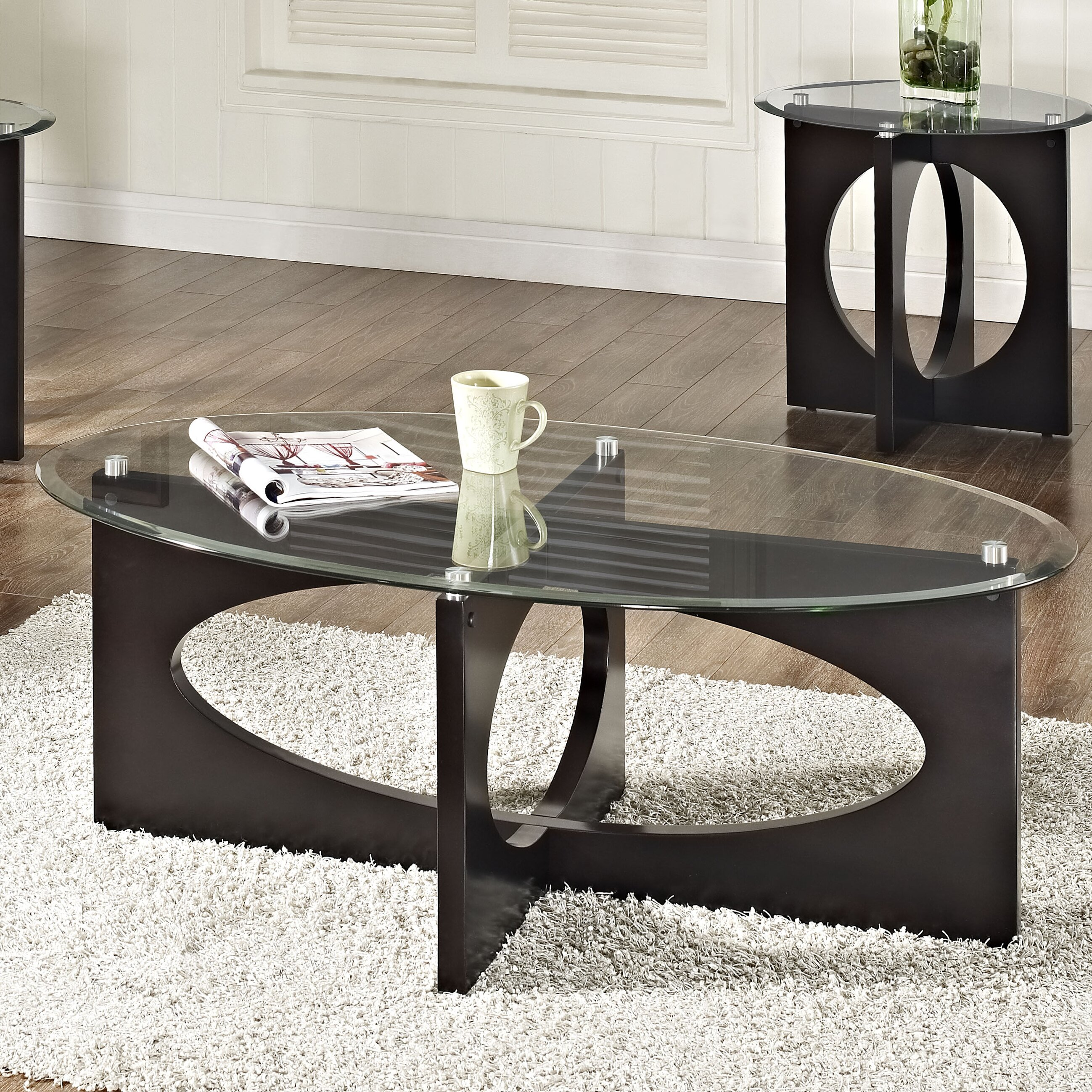 Standard Furniture Dania Coffee Table With End Tables Allmodern