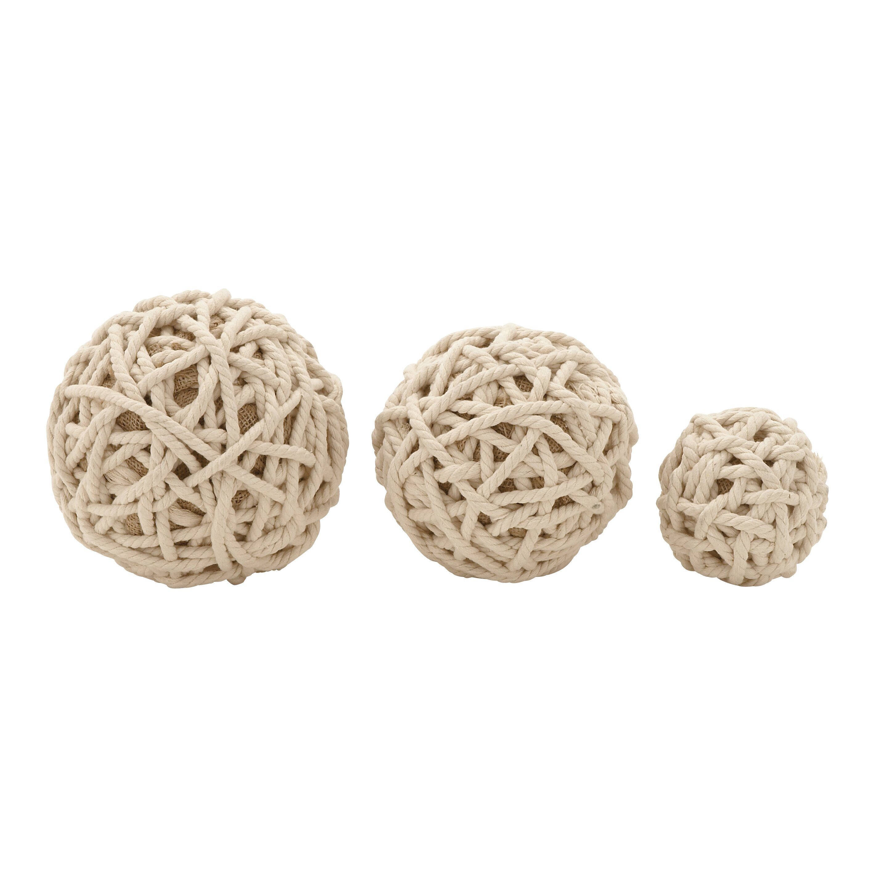 how to make a decorative rope ball