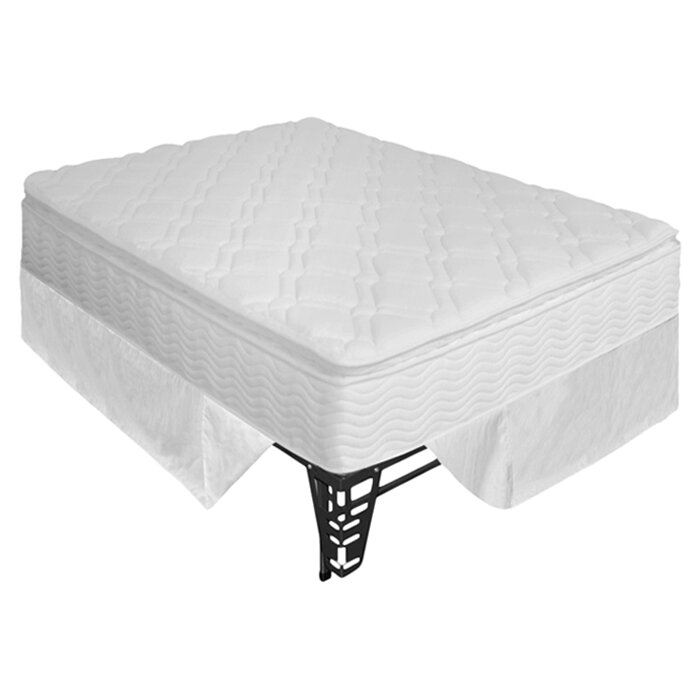 "OrthoTherapy 10"" Pillow Top Spring Mattress & Steel"