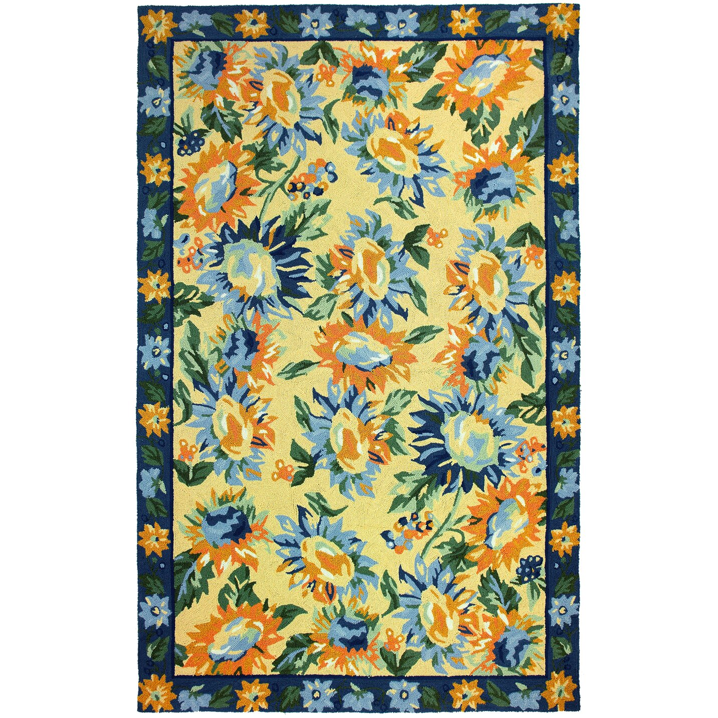Homefires Sunflower Provence Rug & Reviews