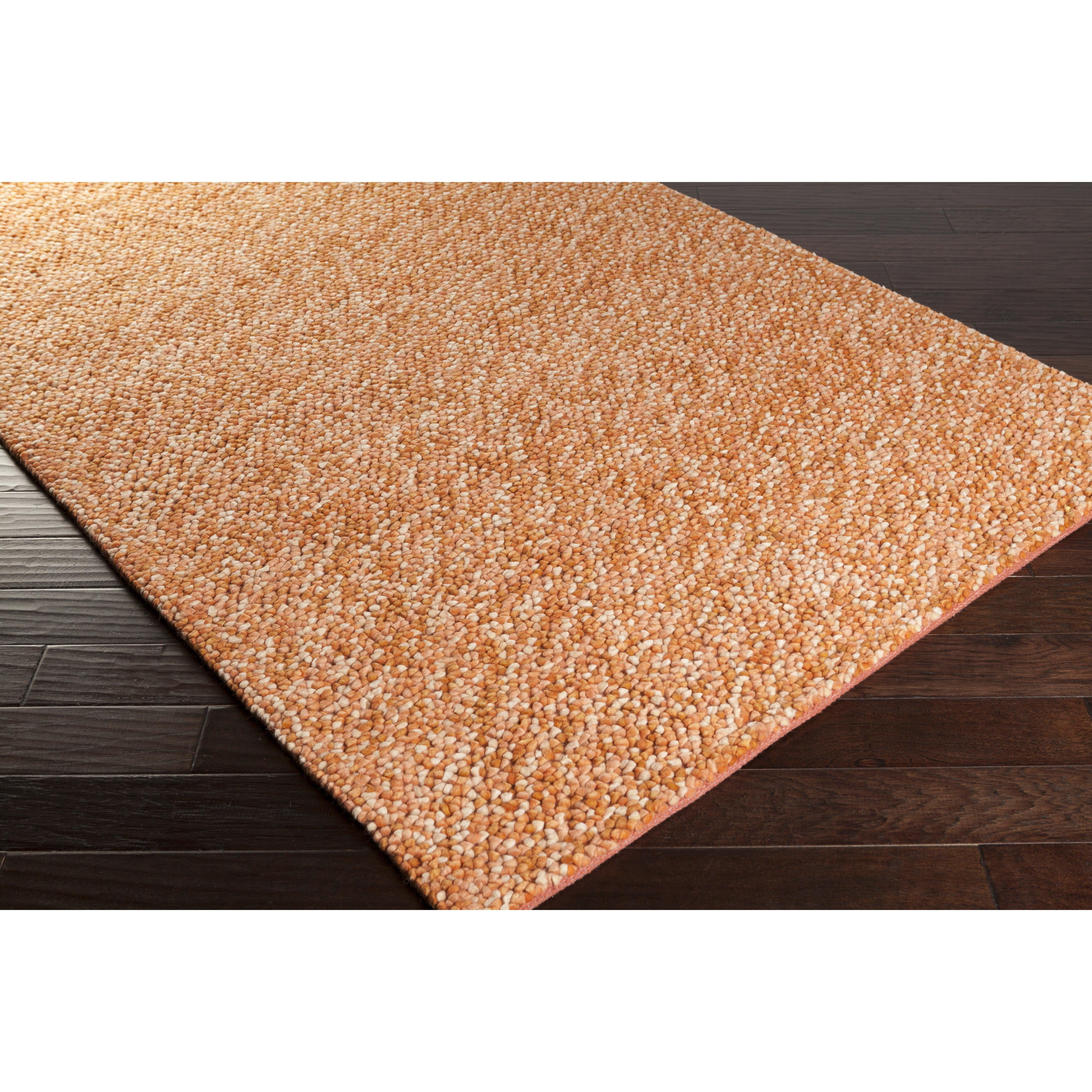 Surya Confetti Burnt Orange/Beige Area Rug