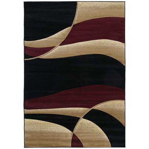 United Weavers Of America Contours Avalon Burgundy Area