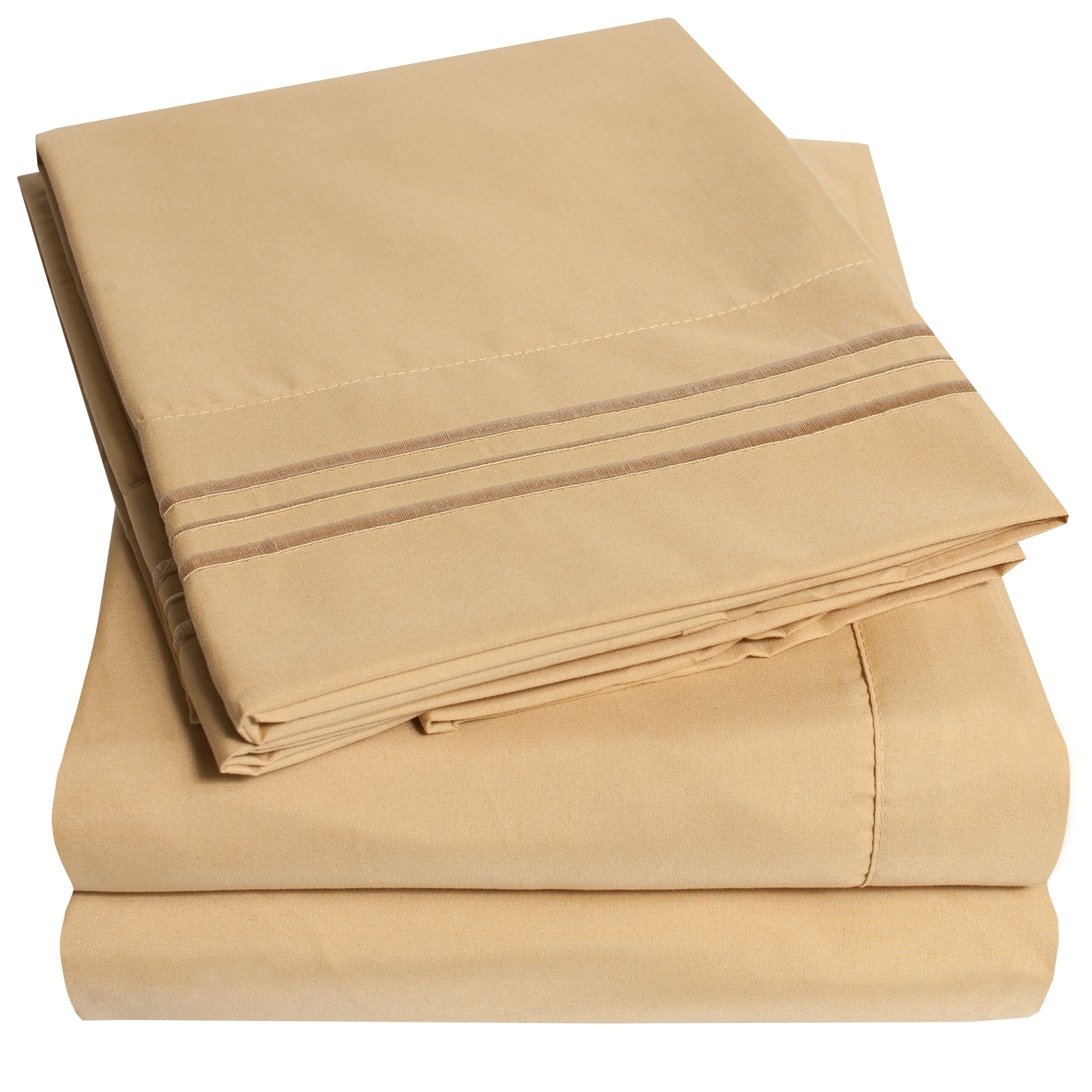 Sweet Home Collection 1800 Series Microfiber Sheet Set ...