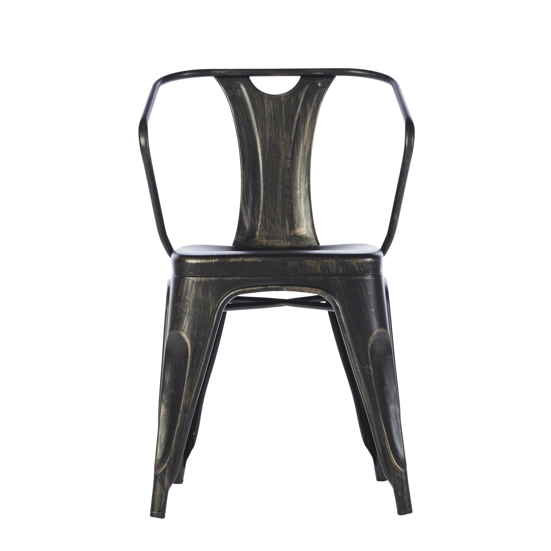 Industrial arm chair wayfair