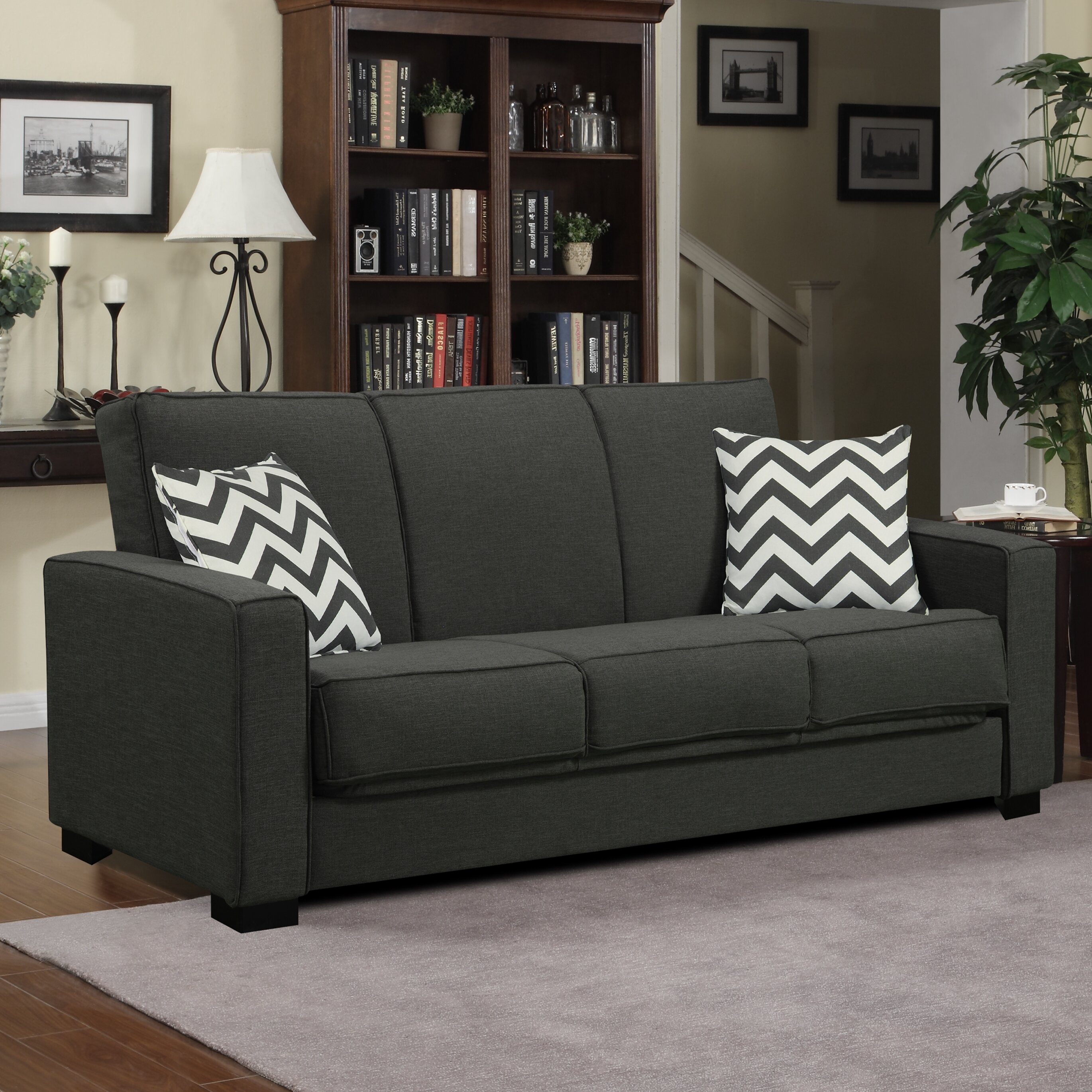 Athena Convertible Sleeper Sofa Wayfair