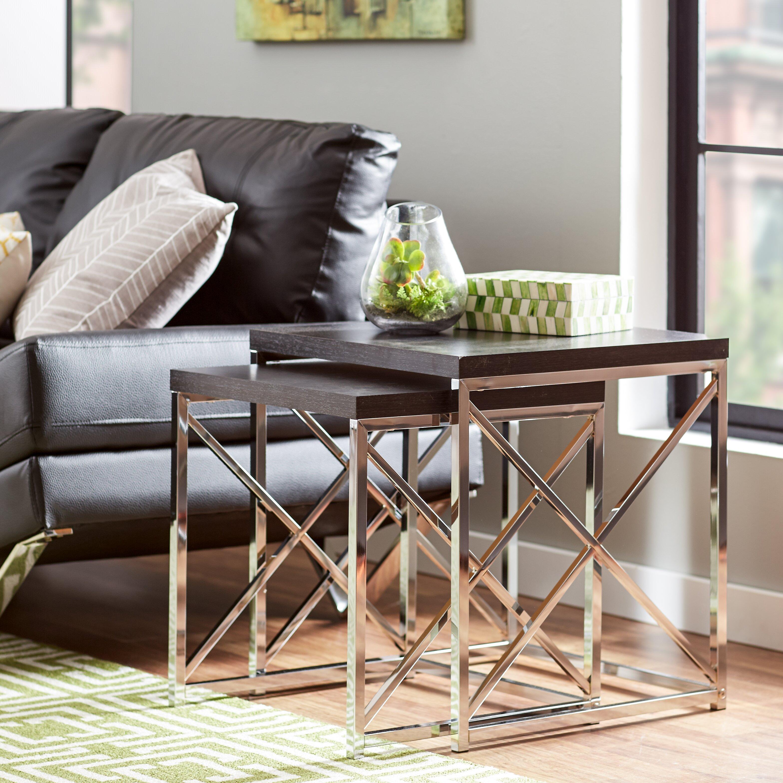 Nesting End Tables Living Room Mercury Row Rigel 2 Piece Reviews Wayfair
