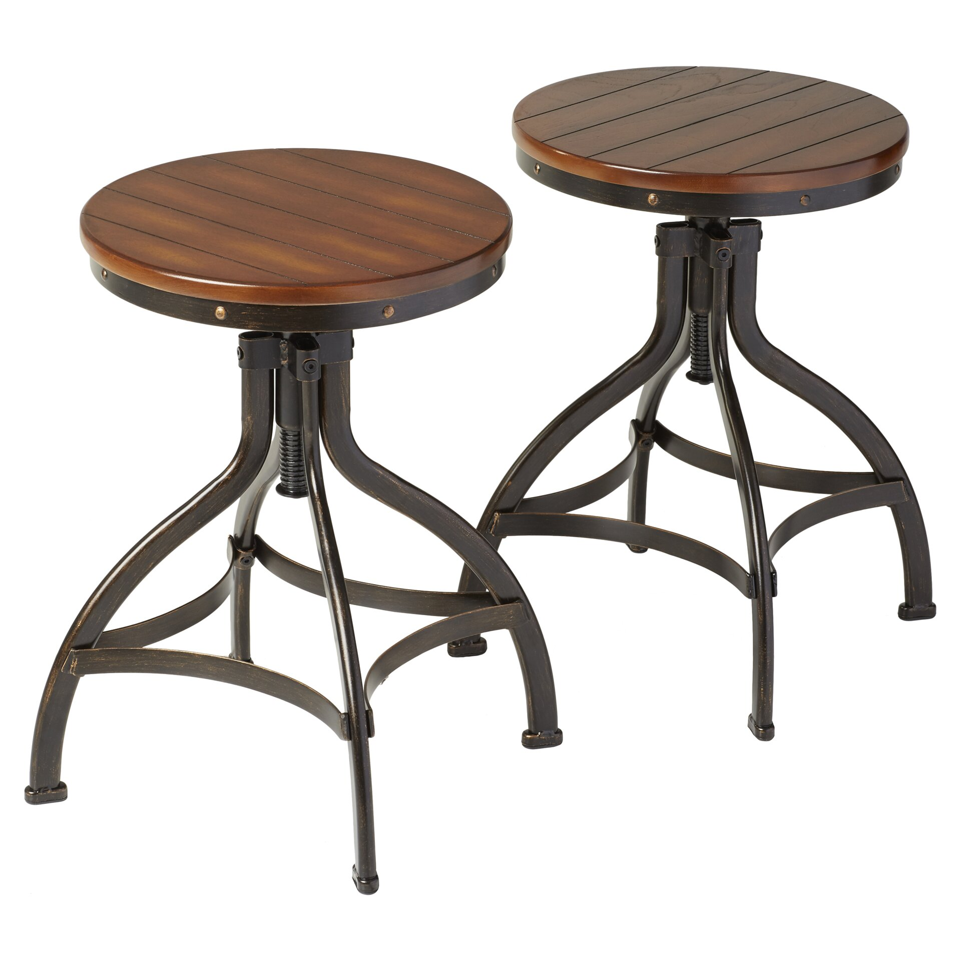 Adjustable Height Bar Stool Wayfair