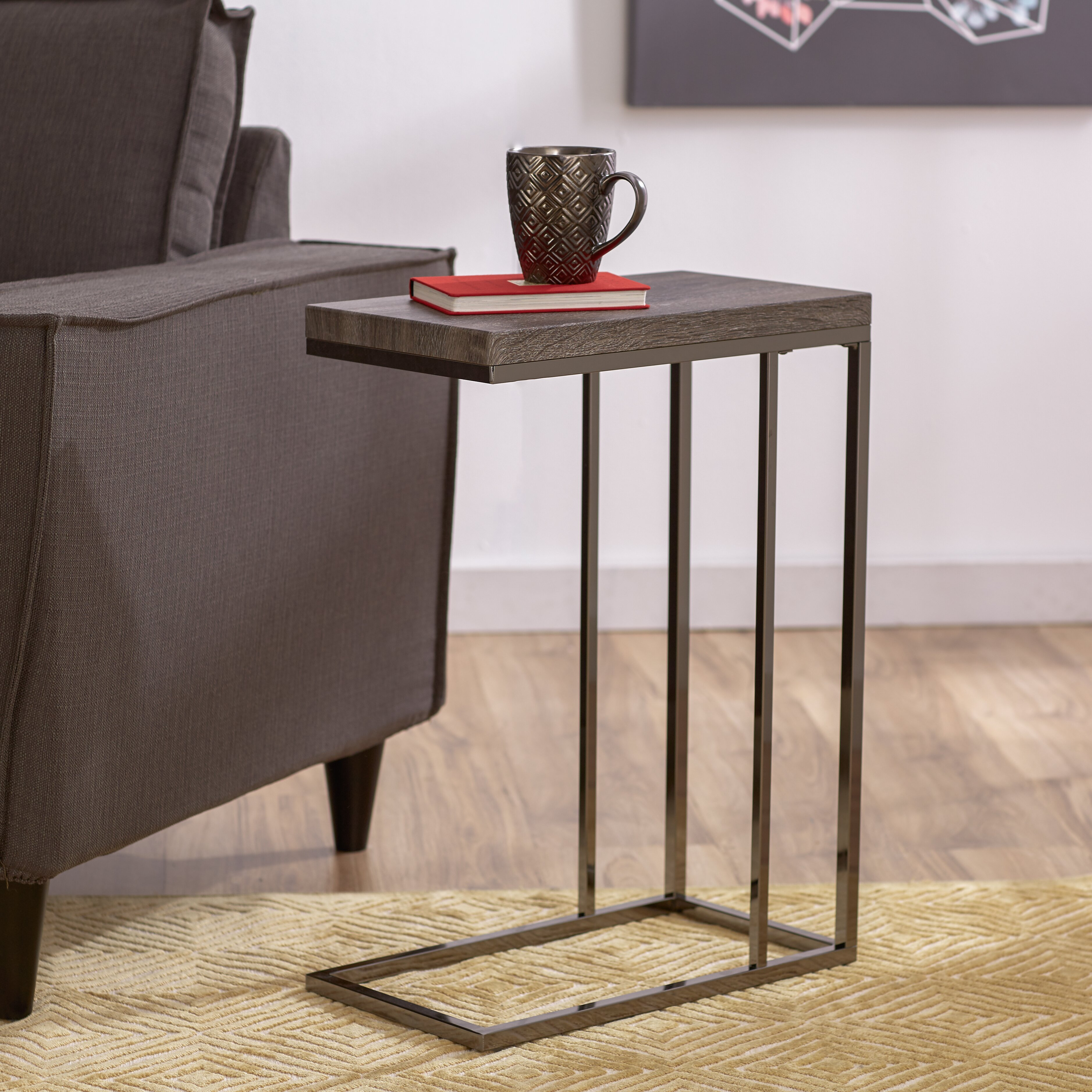 Wayfair Table: Philippos Chairside End Table