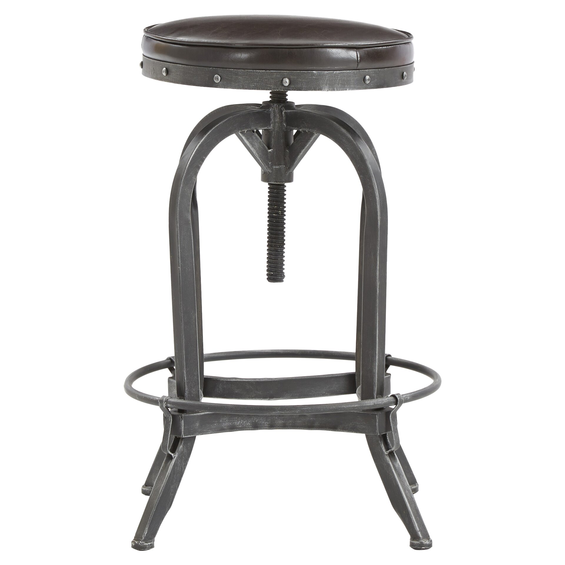 Mercury Row Adjustable Height Swivel Bar Stool amp Reviews  : Adjustable Height Bar Stool MCRR1563 from www.wayfair.com size 1920 x 1920 jpeg 255kB