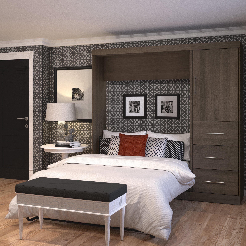 Mercury Row Full Double Murphy Bed Amp Reviews Wayfair