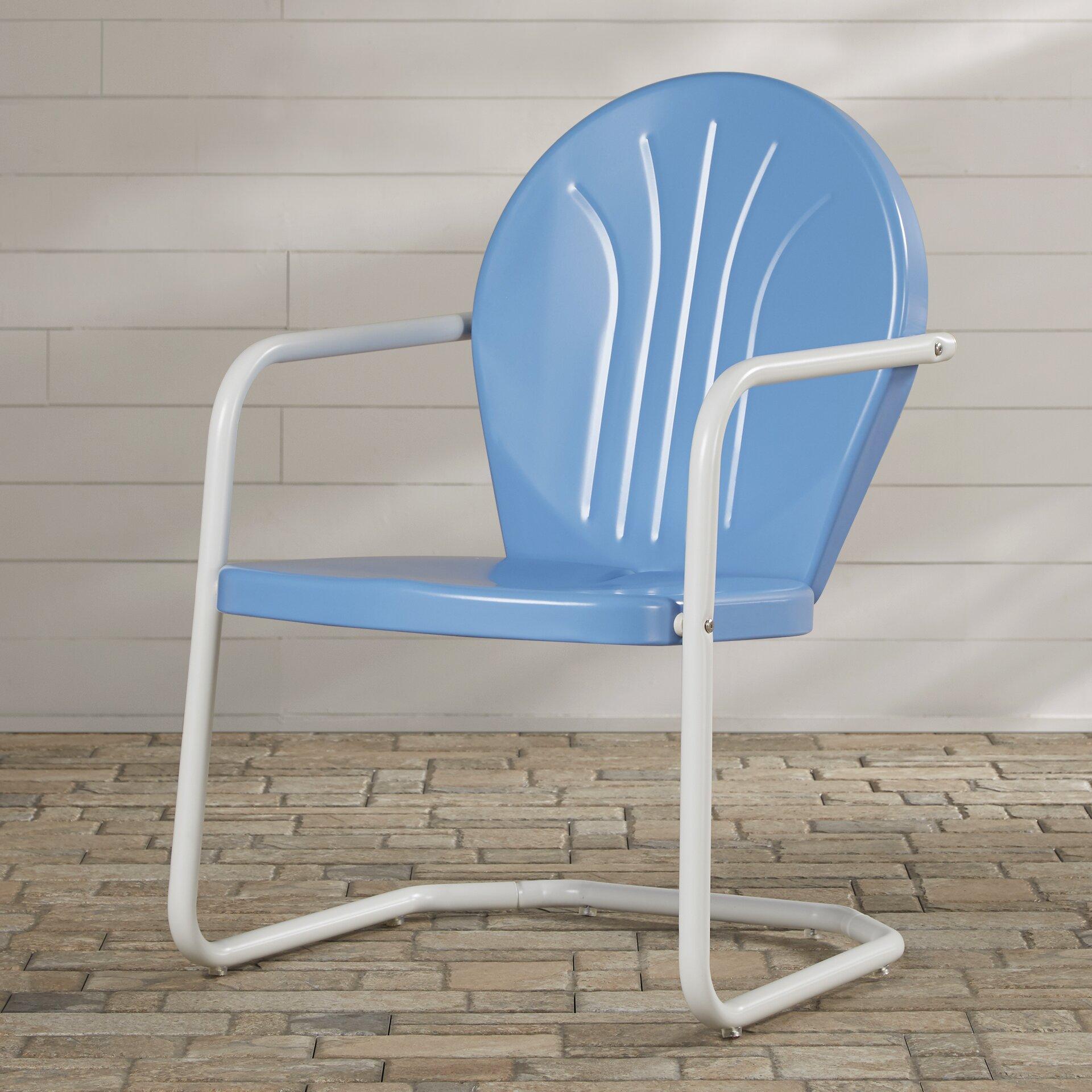 Mercury Row Timothea Metal Chair Amp Reviews Wayfair