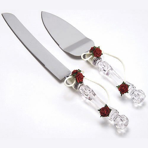 Flower of Love 2 Piece Cake / Pastry Server
