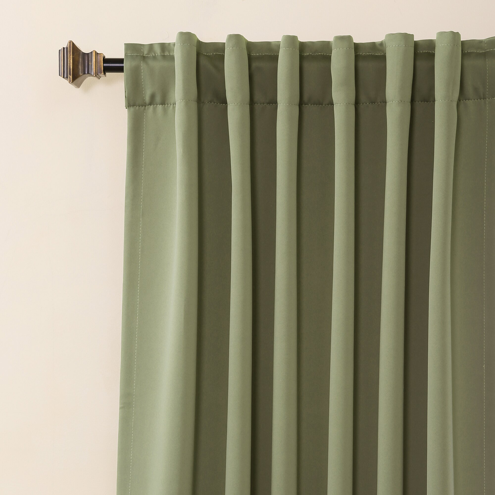 Basic Thermal Insulated Blackout Curtain Panel