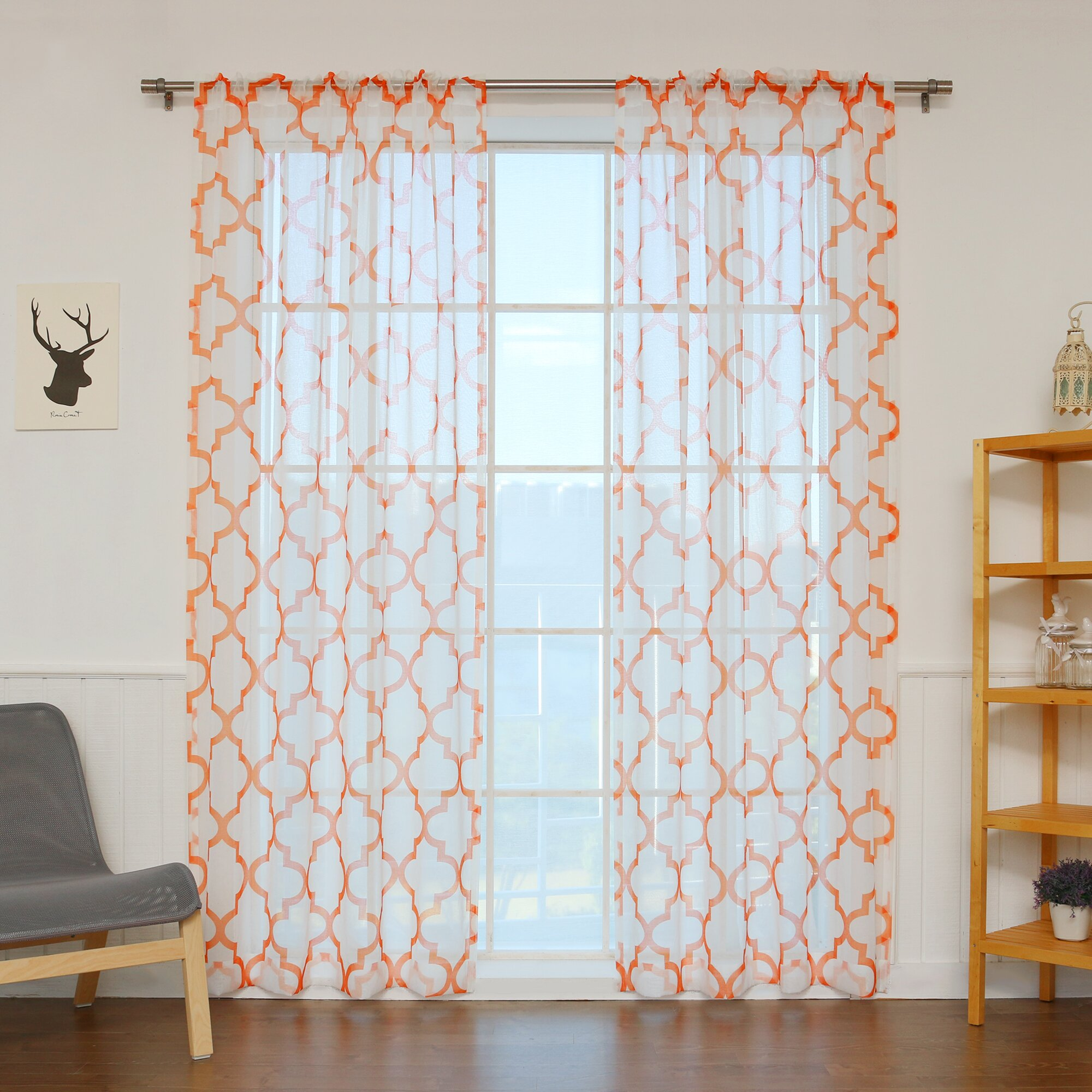 """Curtains & Drapes 84"""" - 94"""" Length Curtains & Drapes Best Home Fashion ..."""
