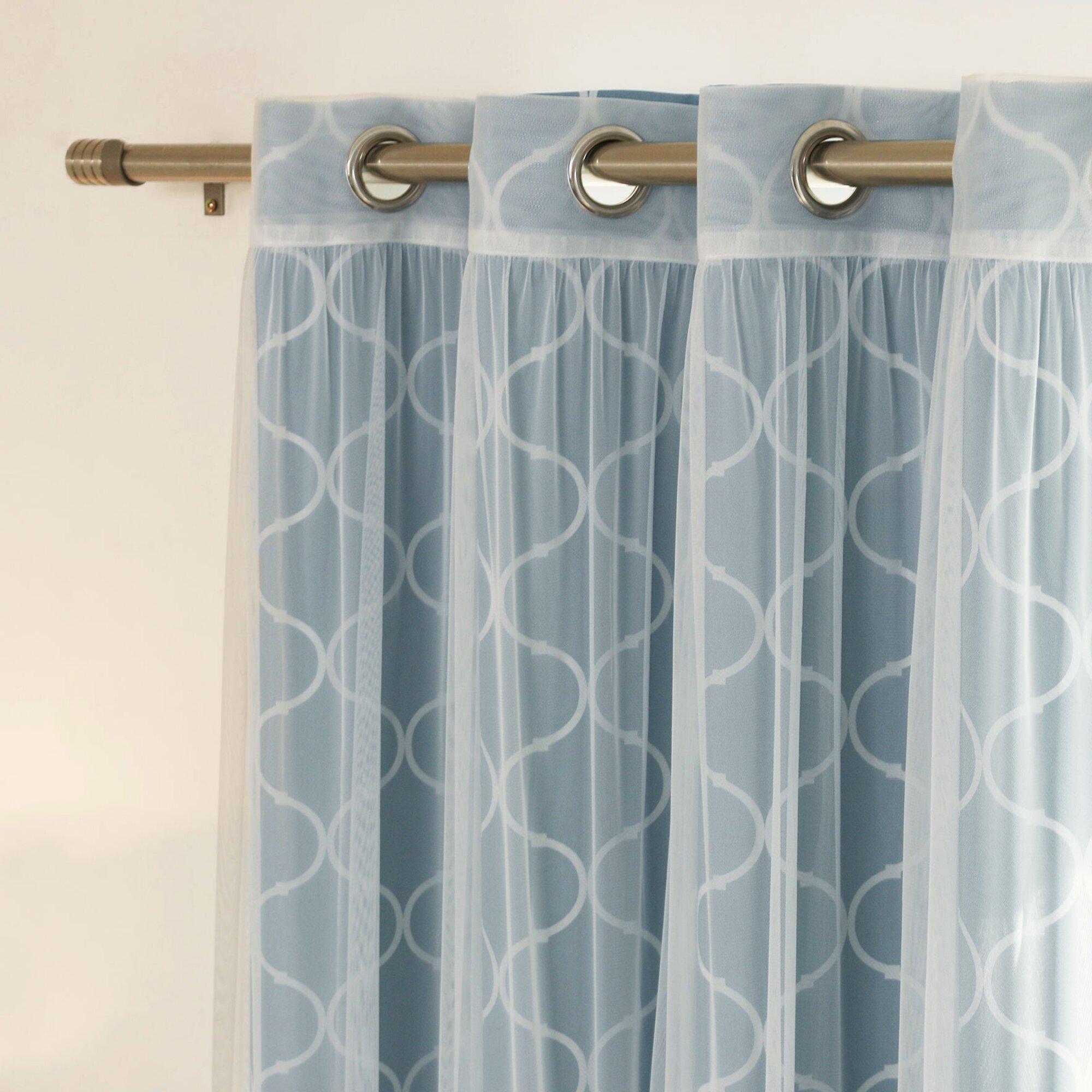 Mix Match Curtain Panel Wayfair
