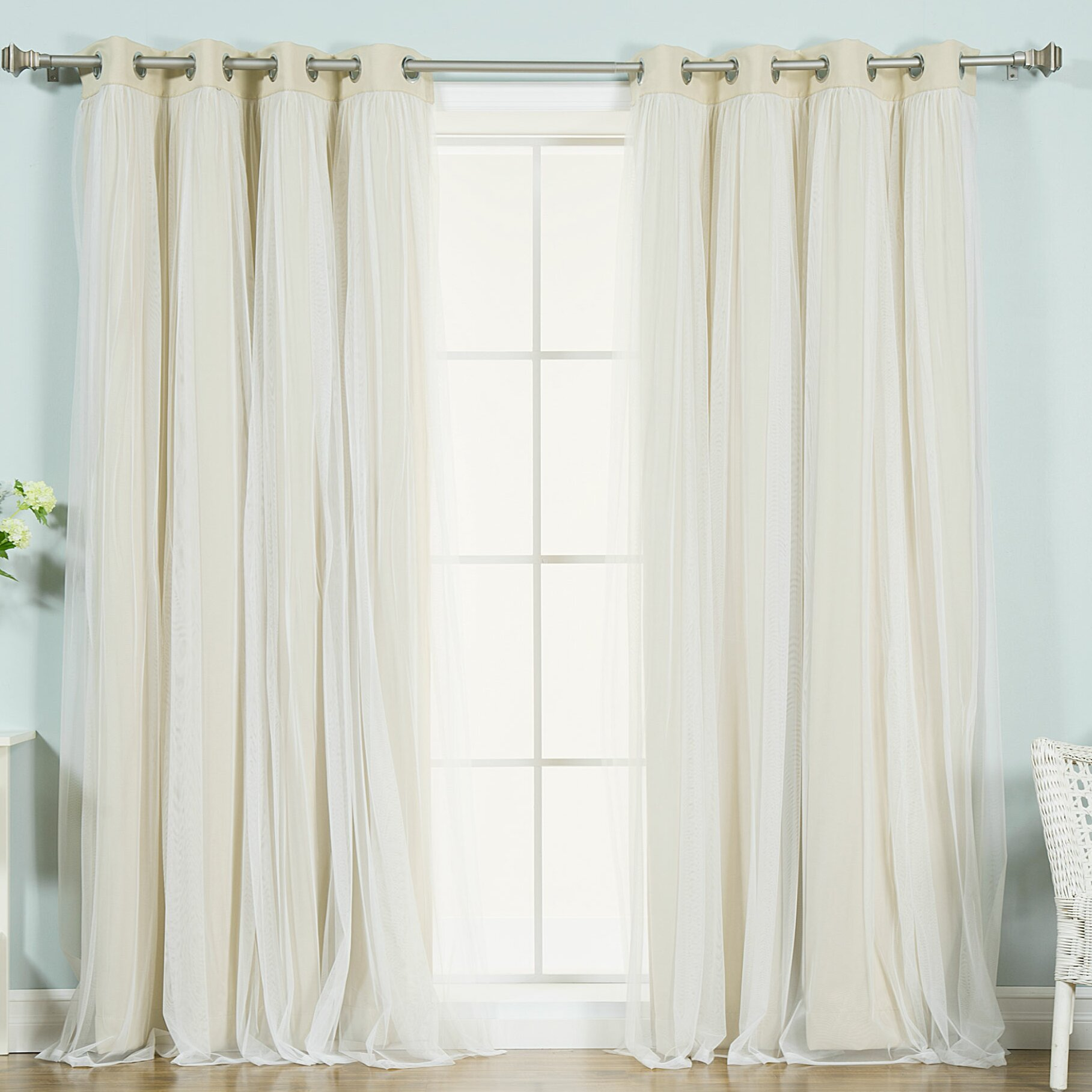 Window Treatments Curtains & Drapes Best Home Fashion, Inc. SKU ...