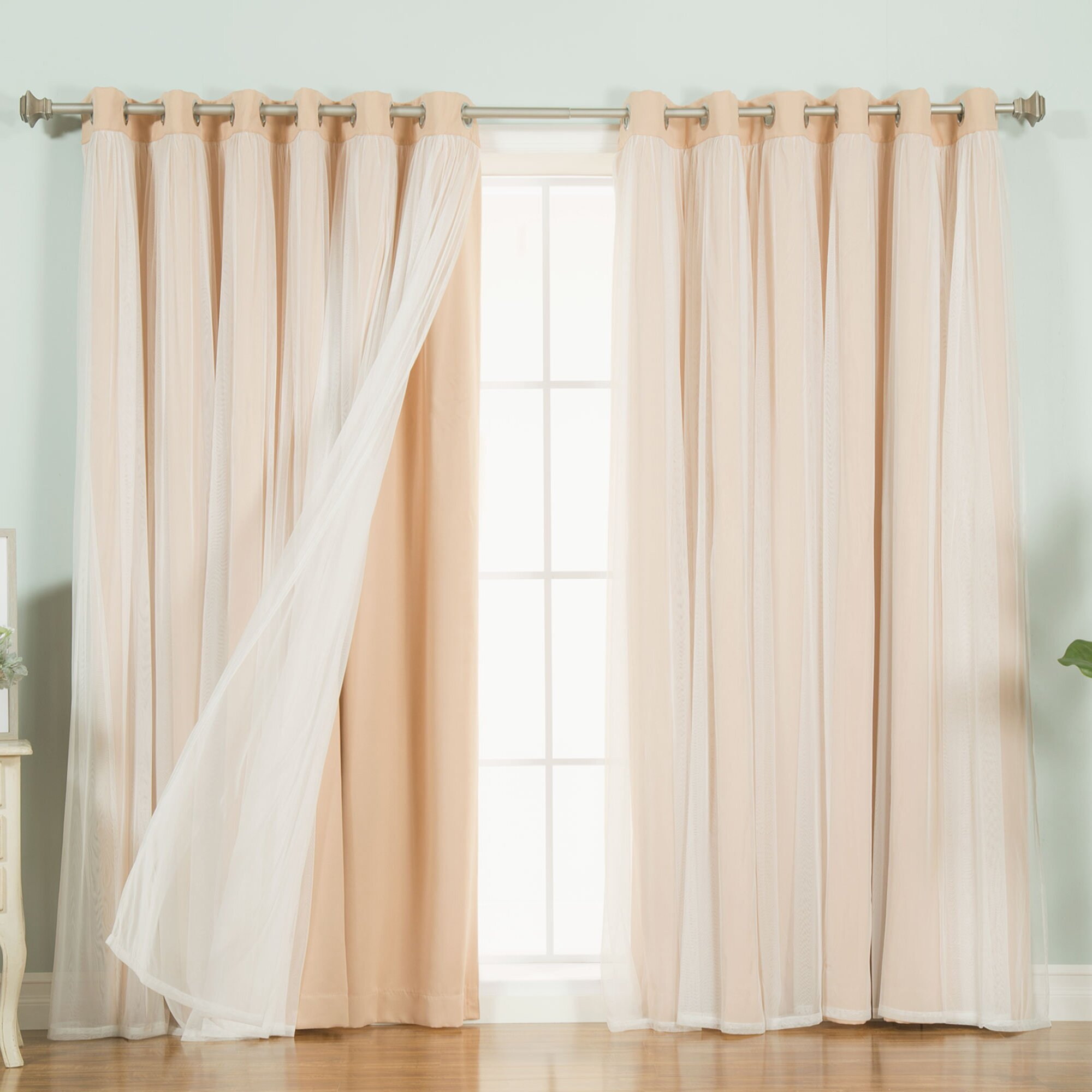 Best Home Fashion Tulle Curtains