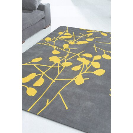 Foreign Accents Festival Grey Floral Area Rug Amp Reviews