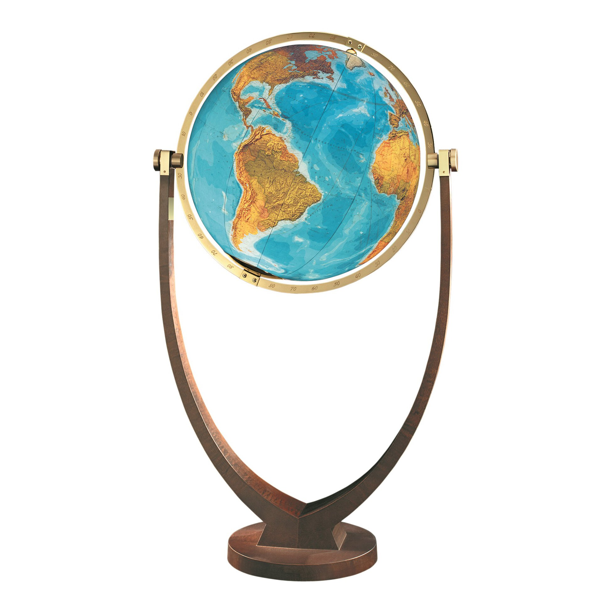 Osnabruck Illuminated Floor Globe Wayfair