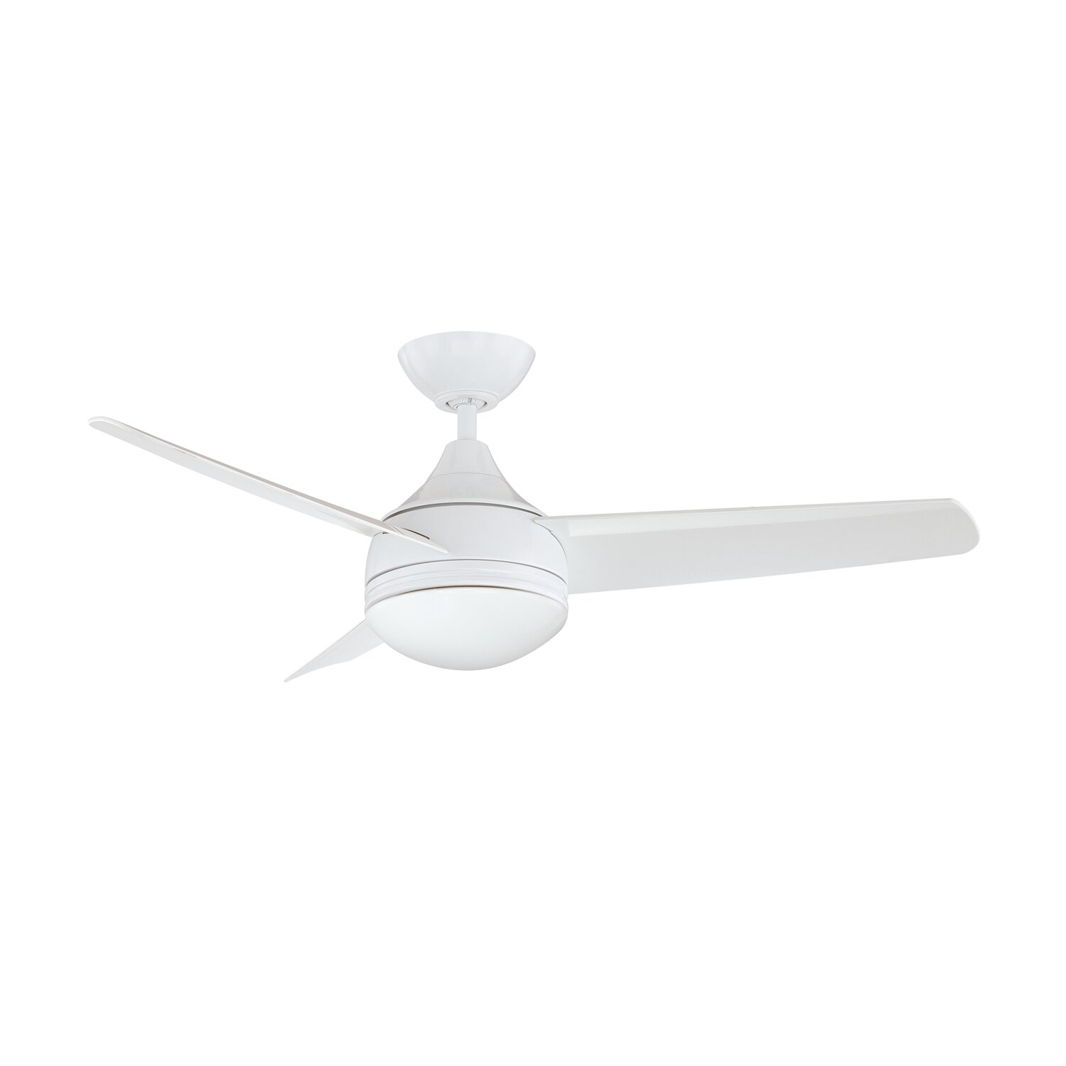 "Kendal Lighting Cordova 42 In Ceiling Fan: 42"" Moderno 3 Blade Ceiling Fan With Wall Remote"