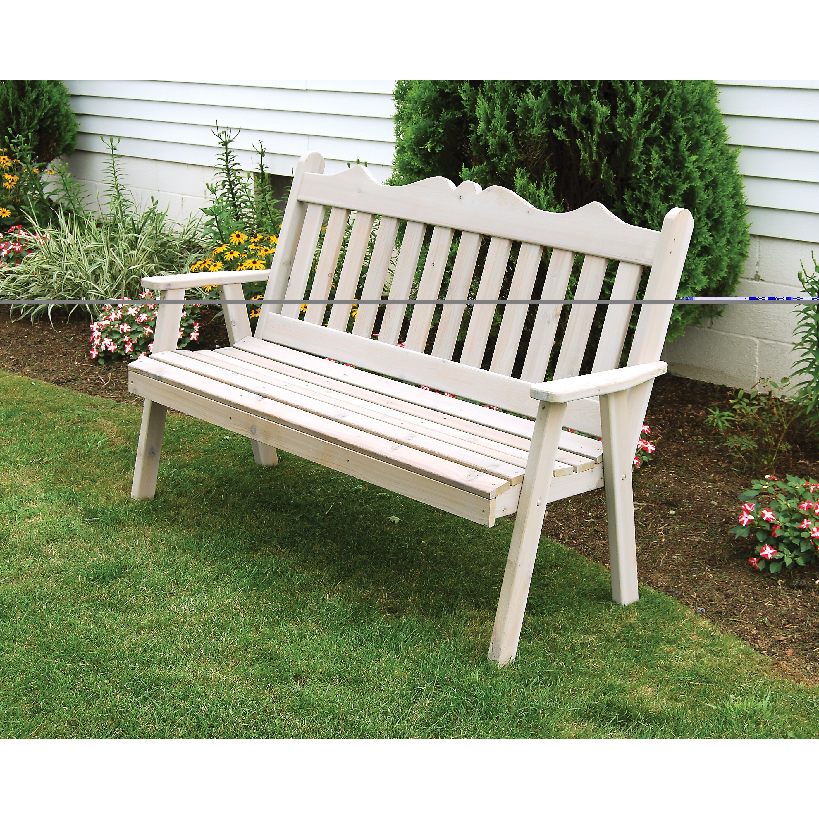 royal english wood garden bench