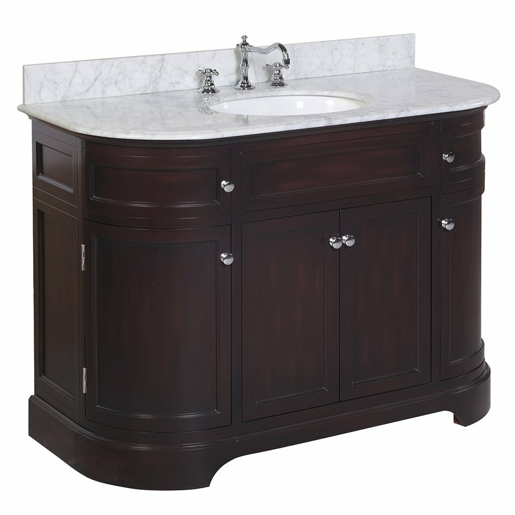 """KBC Montage 48"""" Single Bathroom Vanity Set & Reviews"""