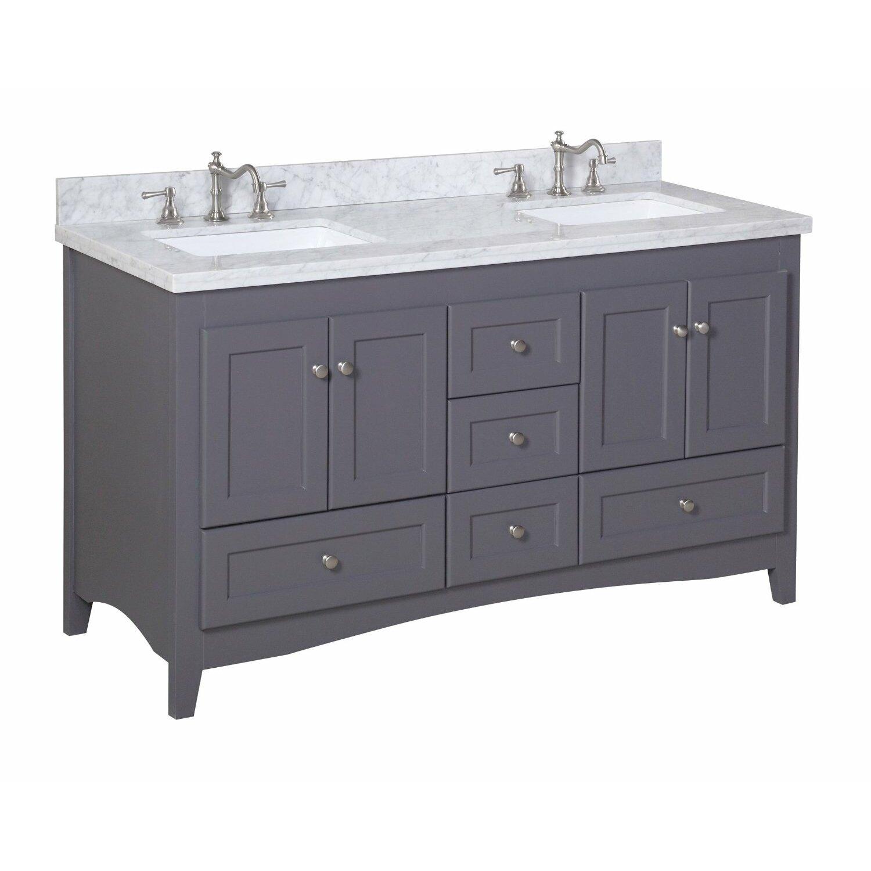 Kbc Abbey 60 Quot Double Bathroom Vanity Set Amp Reviews Wayfair