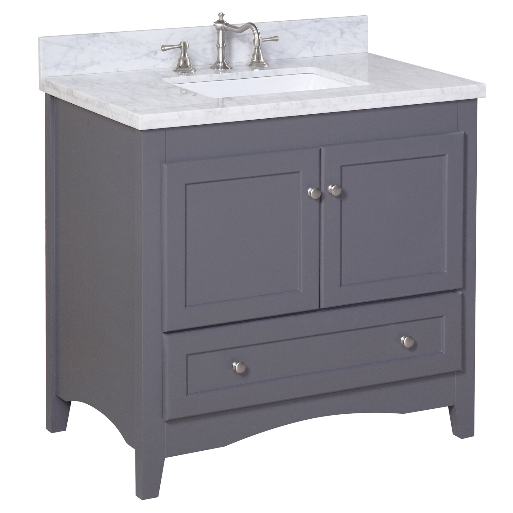 abbey 36 quot single bathroom vanity set wayfair