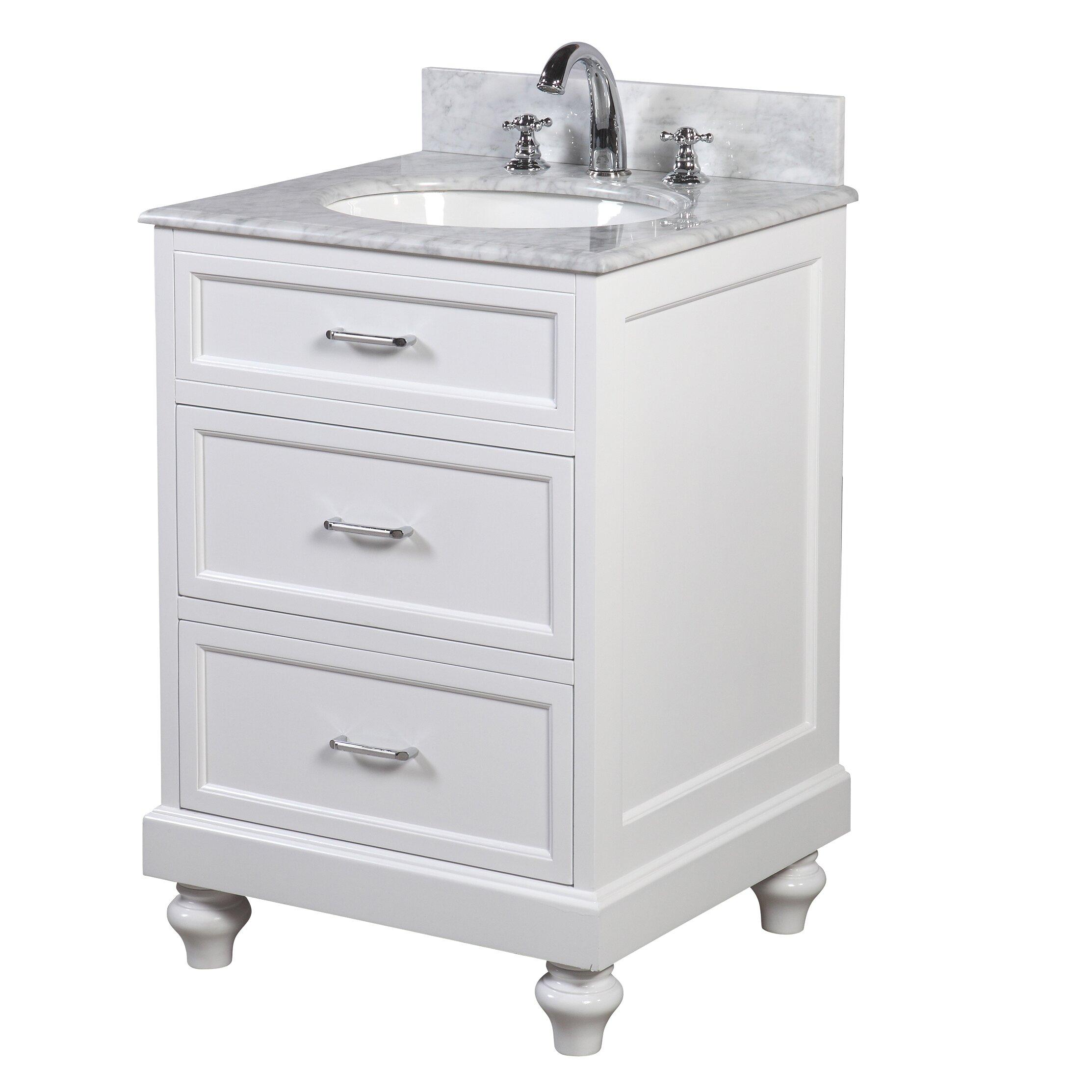 kitchen bath collection amelia 24 single bathroom vanity set