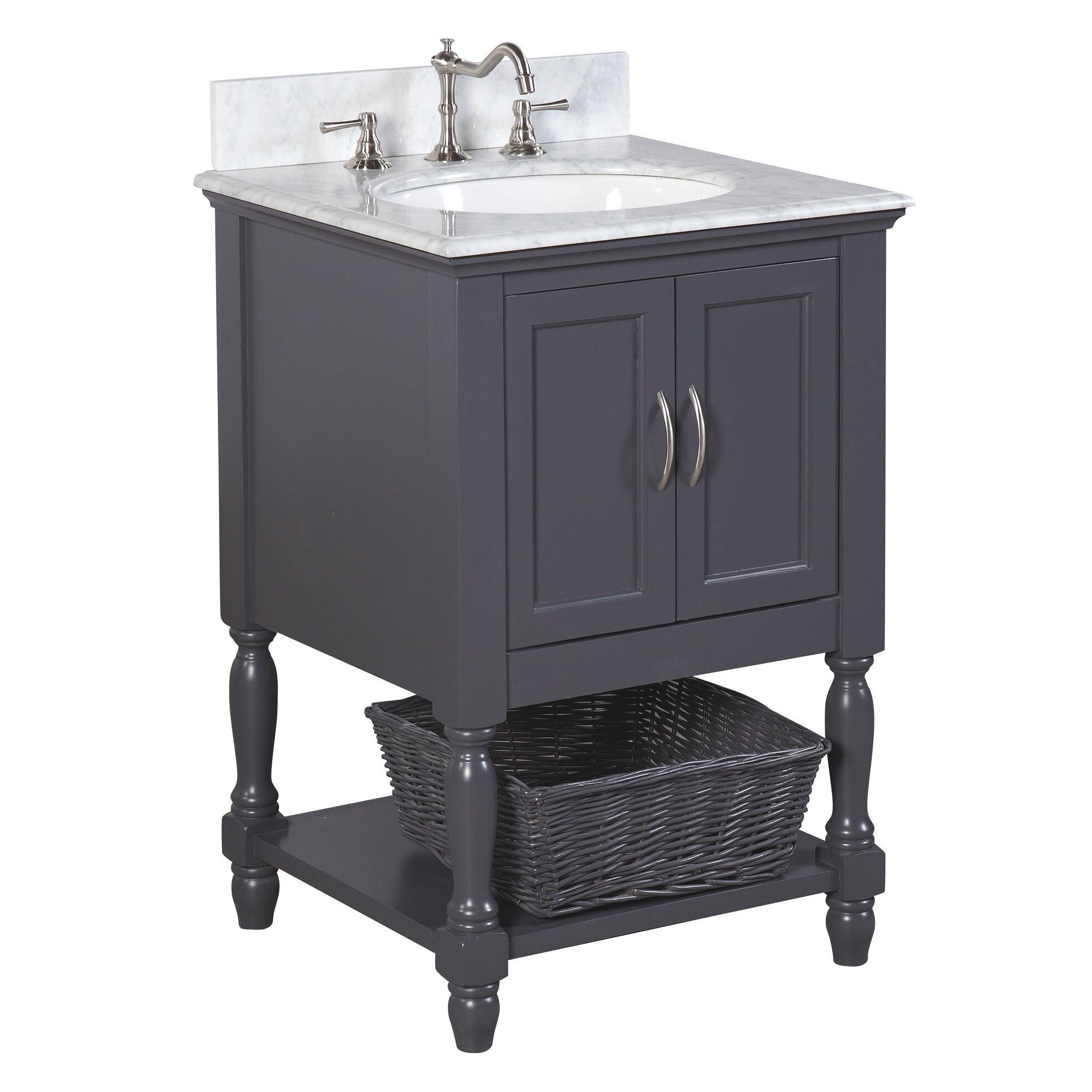 kitchen bath collection beverly 24 single bathroom vanity set