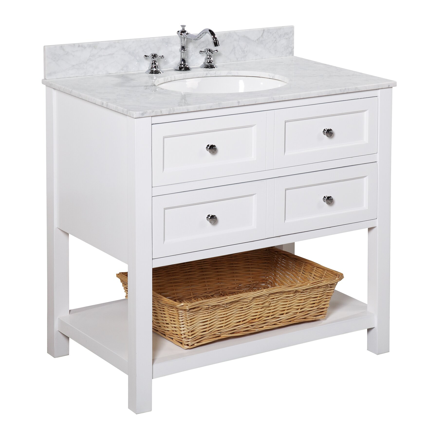 kbc new yorker 36 quot single bathroom vanity set amp reviews