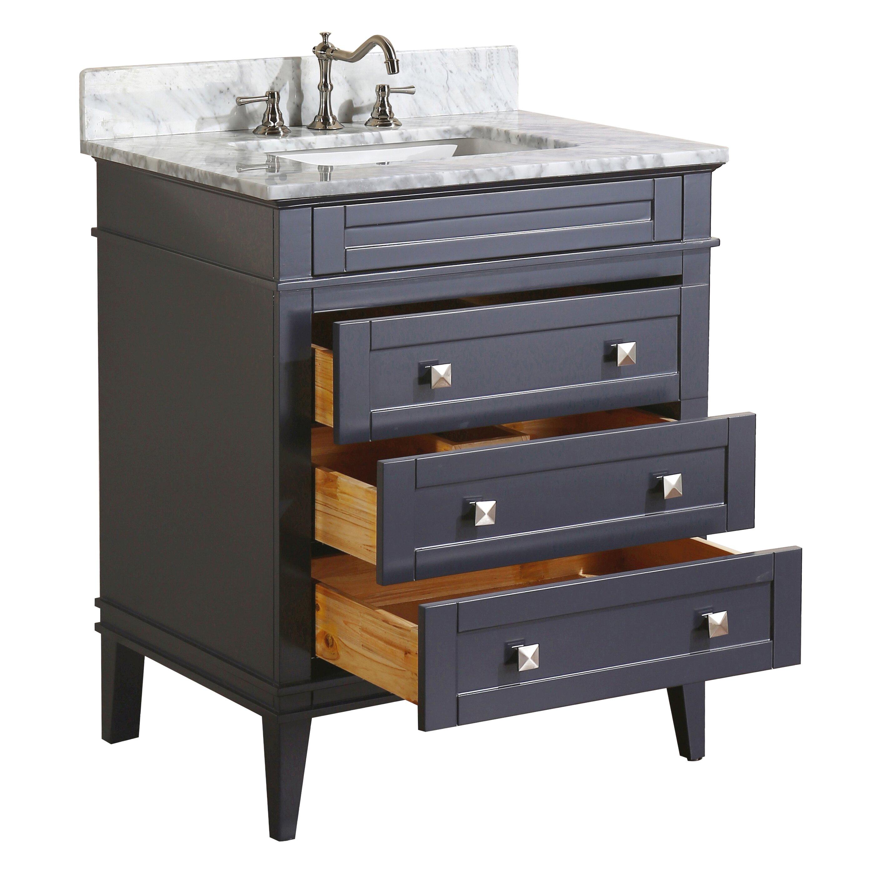 Kitchen Bath Collection Eleanor 30 Single Bathroom Vanity Set middot  Bathroom fixtures seattle  Bathroom Faucets. Tiles For Bathroom Walls Ideas