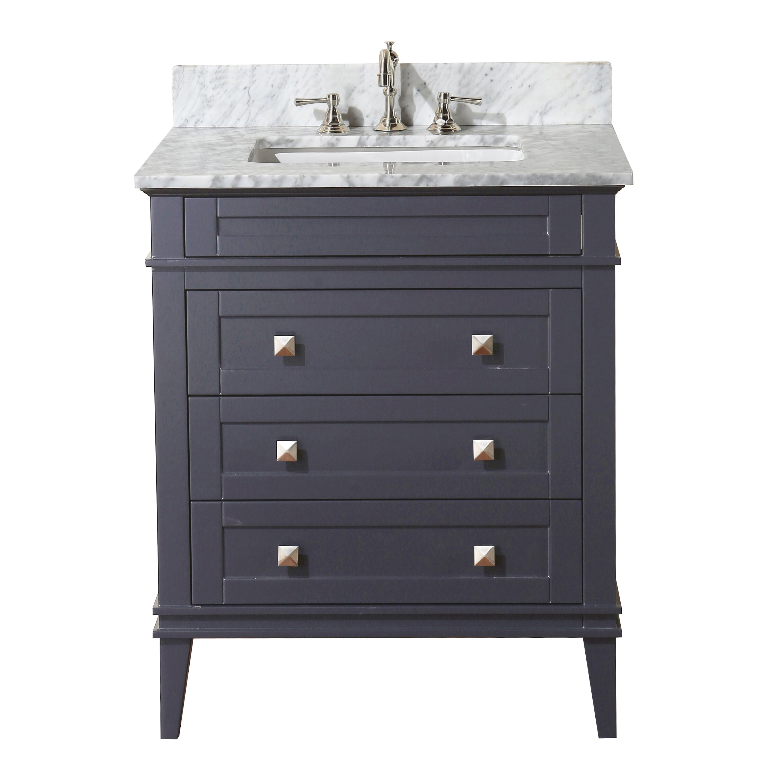 kbc eleanor 30 single bathroom vanity set reviews wayfair