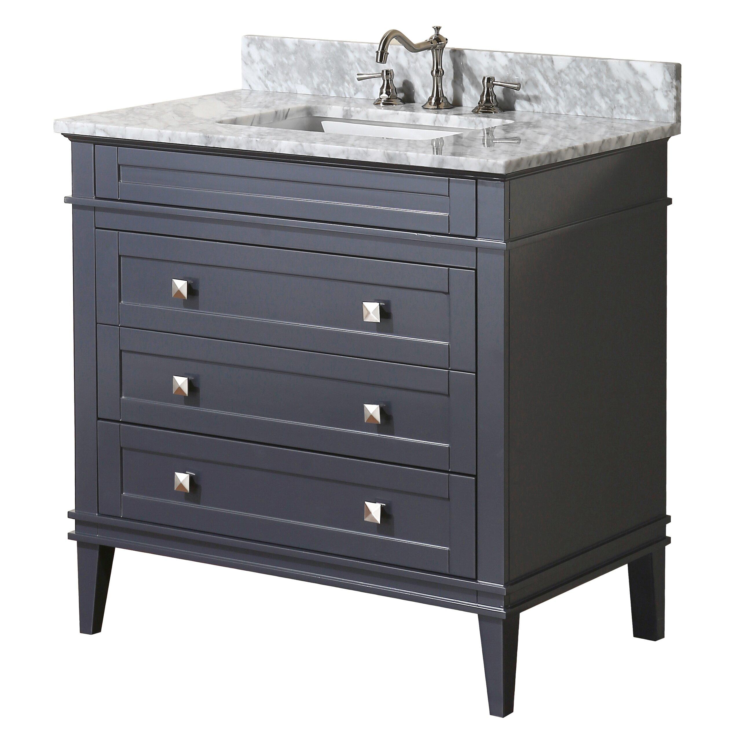 eleanor 36 single bathroom vanity set wayfair