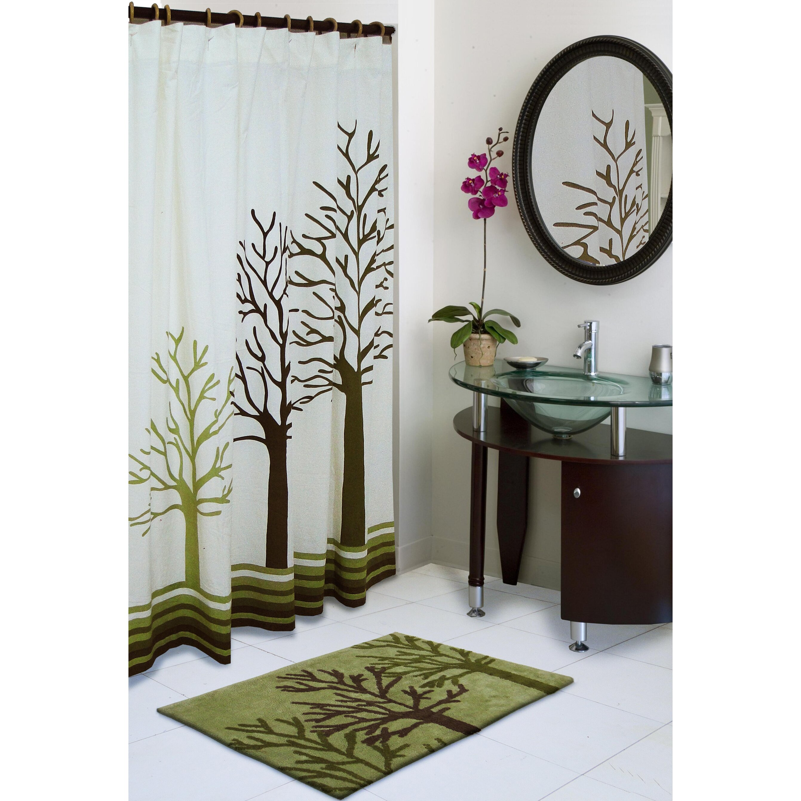 Red Barrel Studio Abita Cotton Shower Curtain Amp Reviews