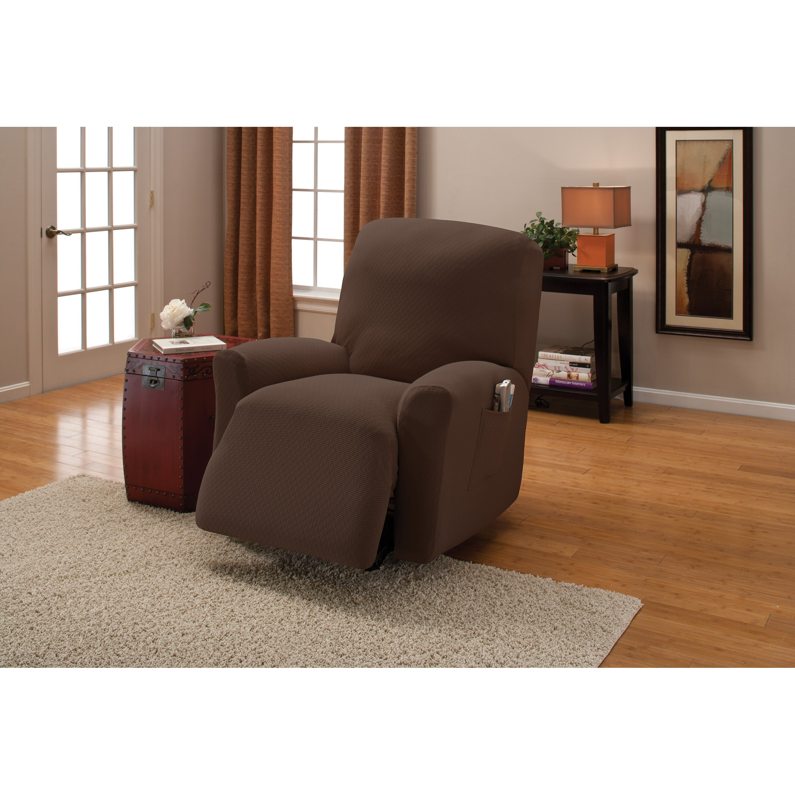 red barrel studio auburn road recliner slipcover reviews