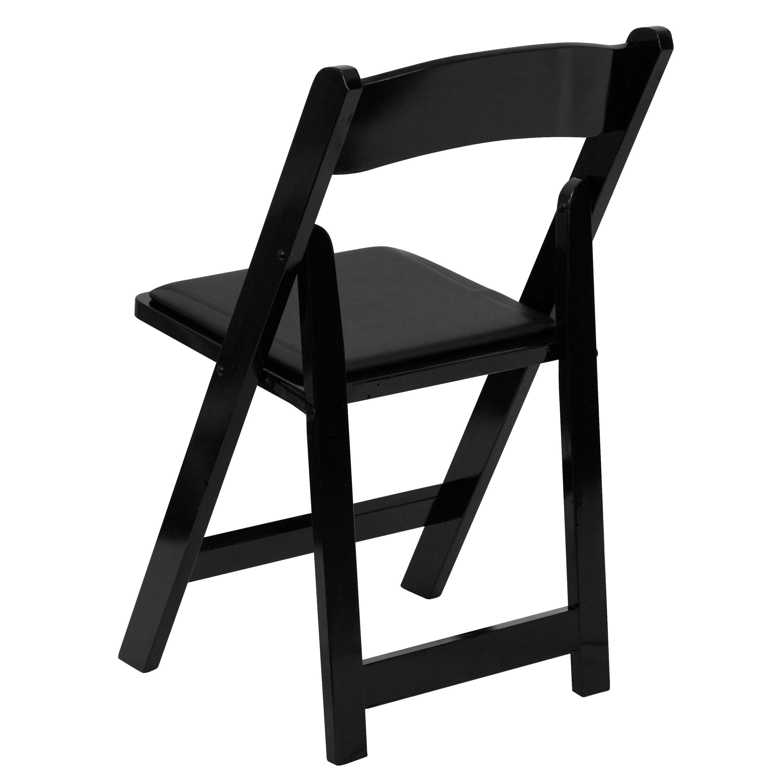 alchemist folding chair with padded seat wayfair. Black Bedroom Furniture Sets. Home Design Ideas