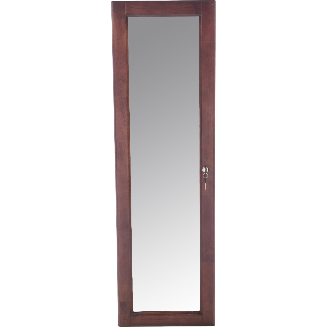 Varvara Wall Mounted Jewelry Armoire with Mirror | Wayfair