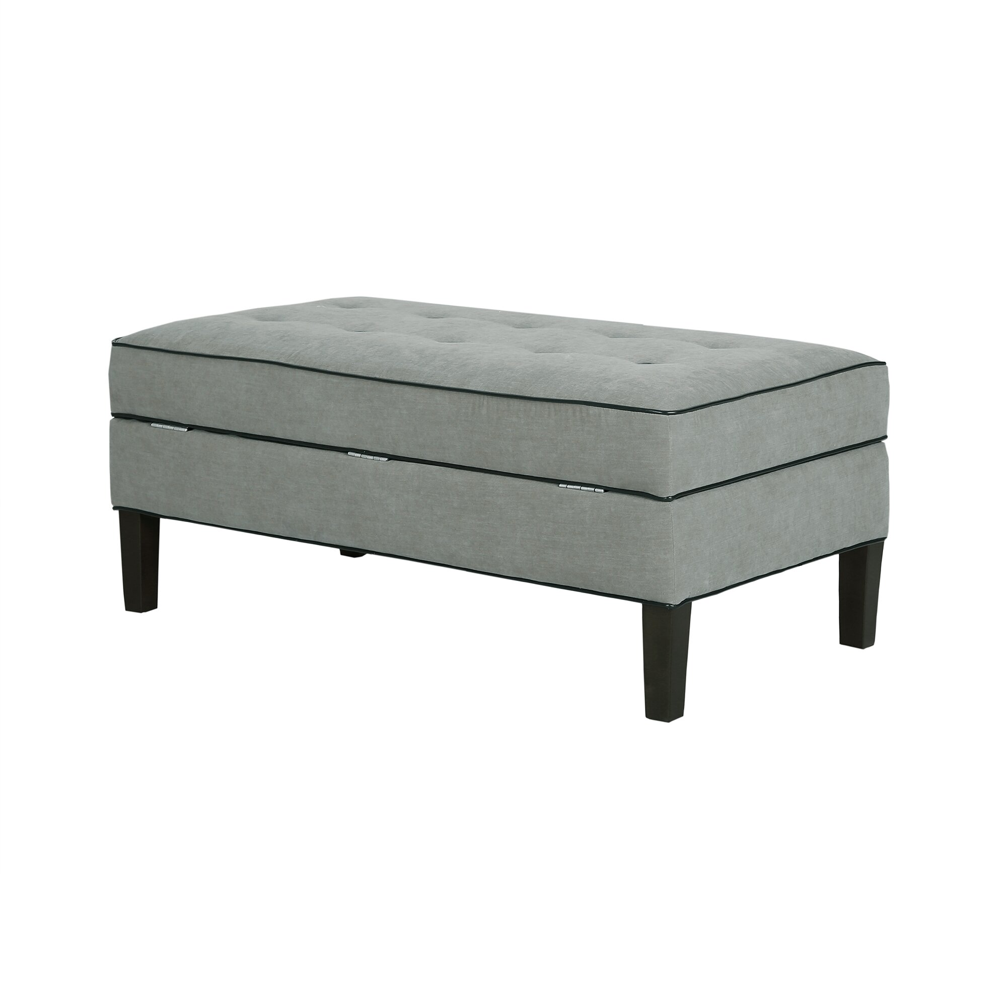amboyer upholstered storage bedroom bench wayfair
