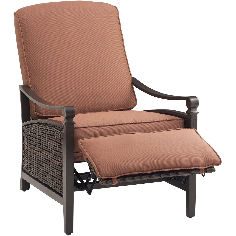 Carson Luxury Outdoor Recliner Chair With Cushion Wayfair