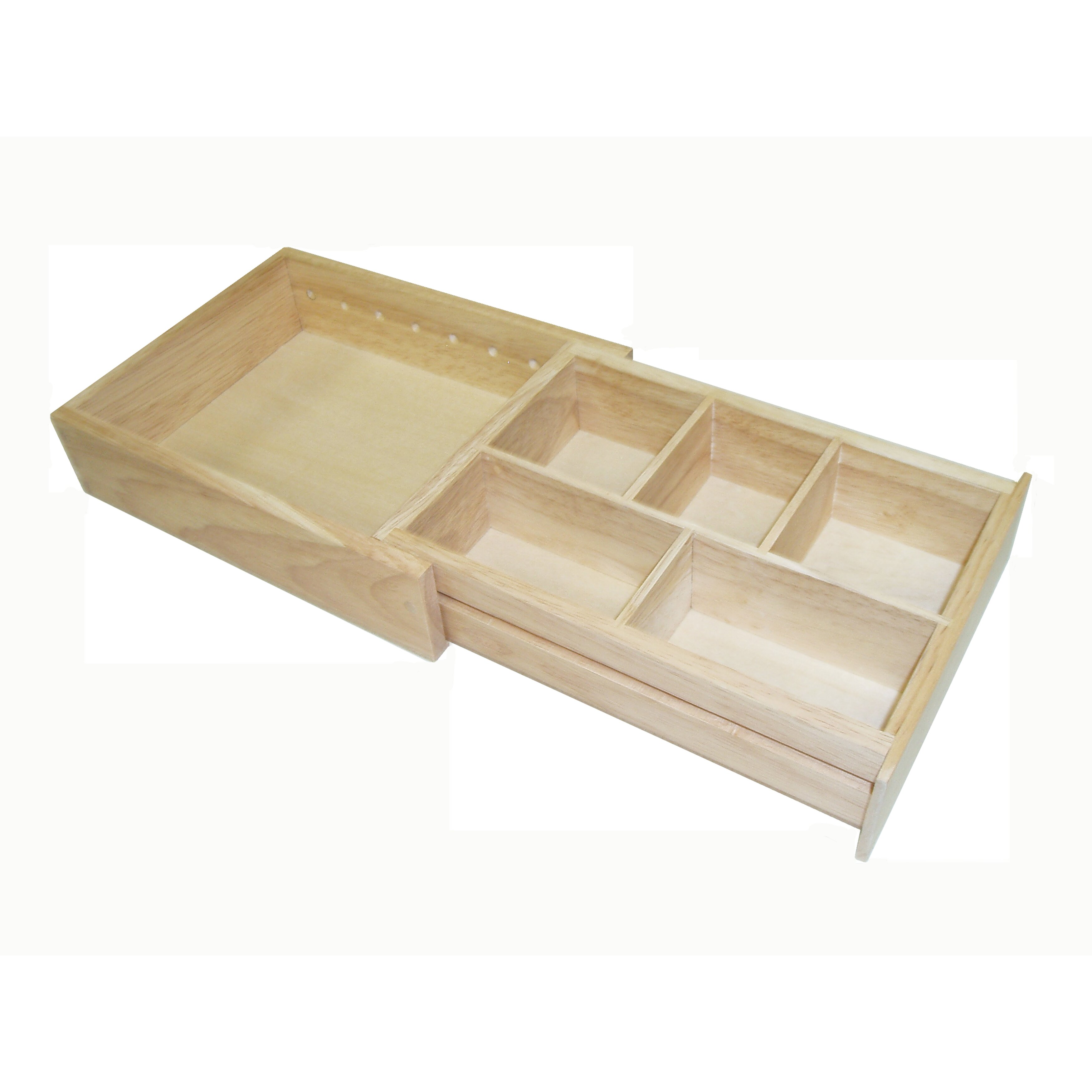 Amazing photo of Wood Expandable Drawer Organizer by Axis International with #8C703F color and 3500x3500 pixels