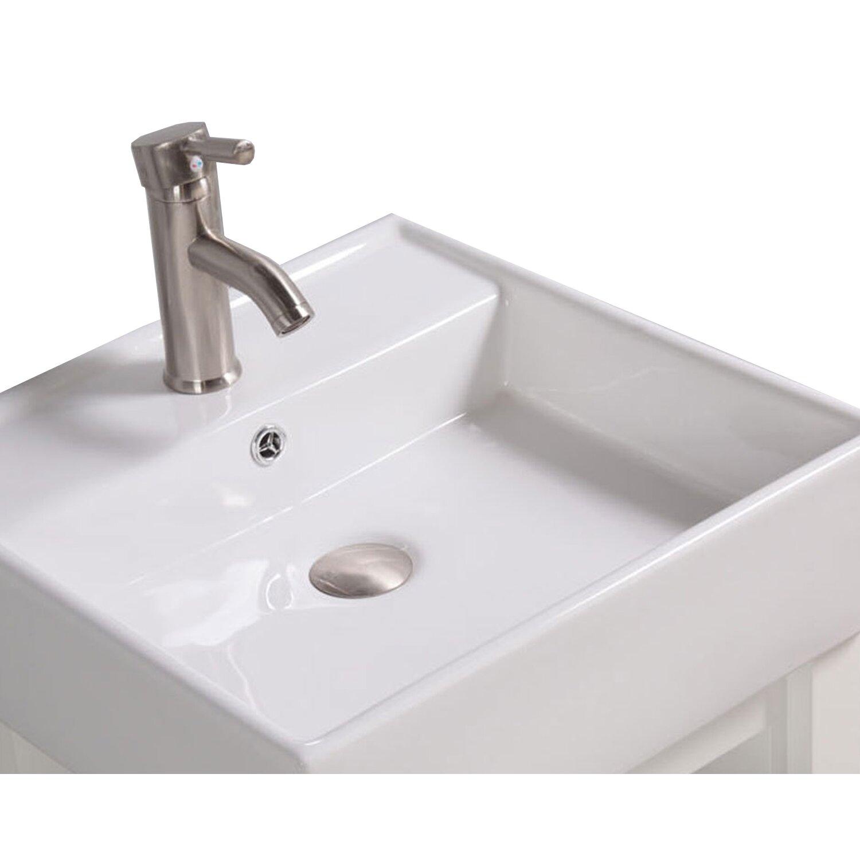 """Inflatable Sofa Malta: MTDVanities Malta 18"""" Single Sink Bathroom Vanity Set With"""