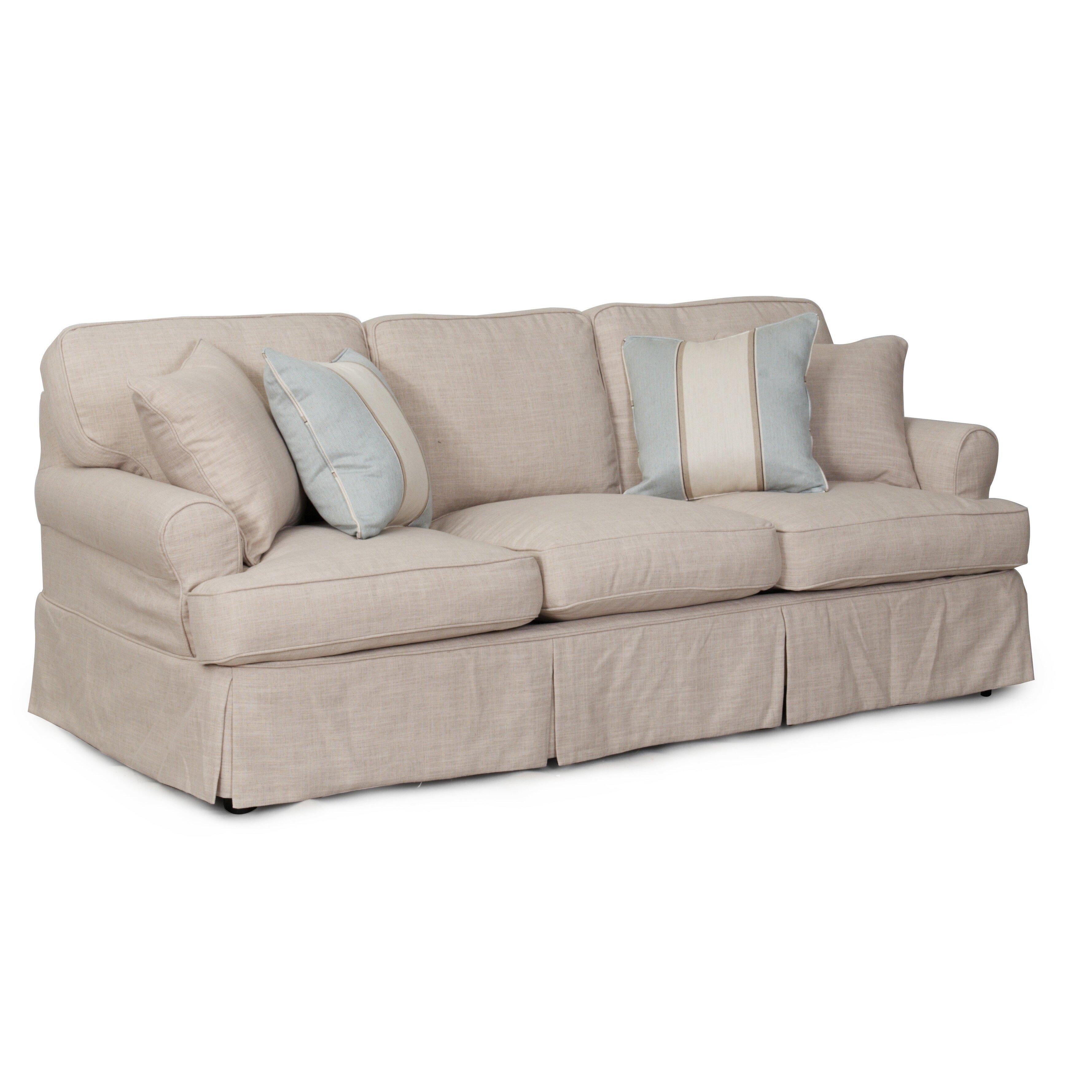 sunset trading horizon sofa t cushion slipcover set. Black Bedroom Furniture Sets. Home Design Ideas