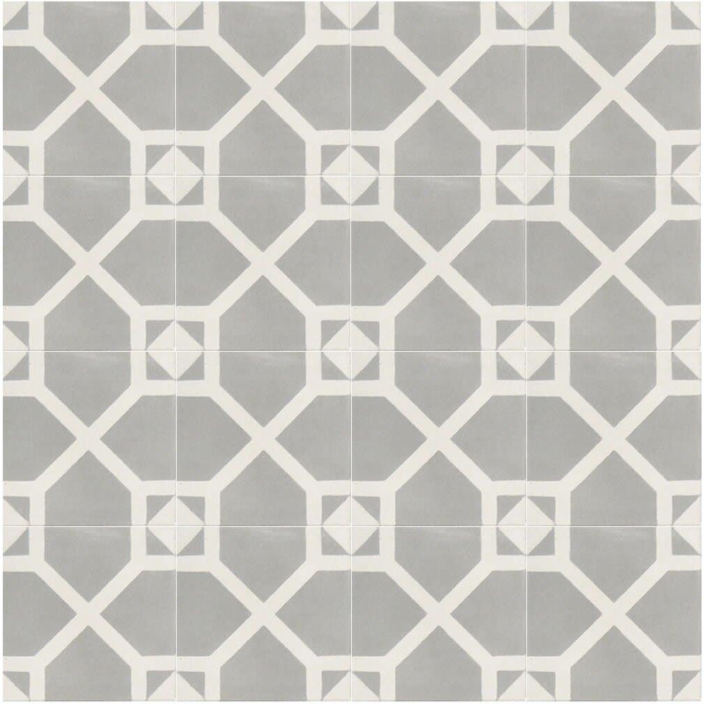 Amoud 8 x 8 handmade cement tile wayfair for Handmade cement tiles
