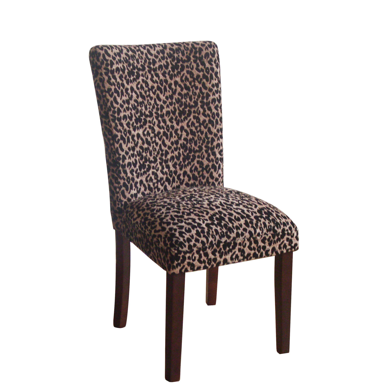 Leopard Parsons Chair | Wayfair