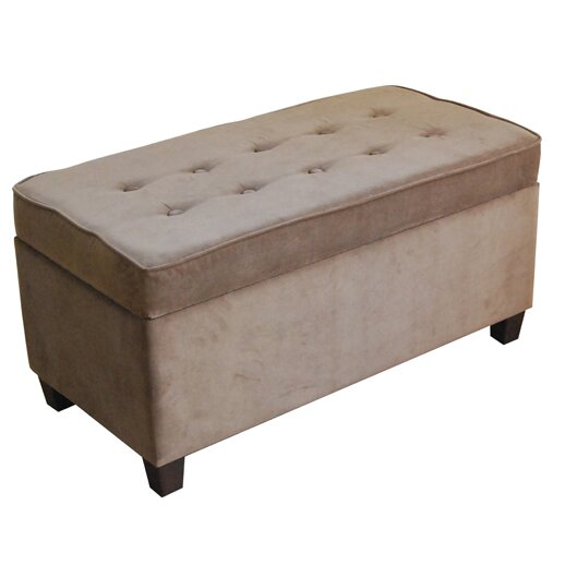 Homepop Storage Bench Reviews: HomePop Two Seat Storage Bench & Reviews