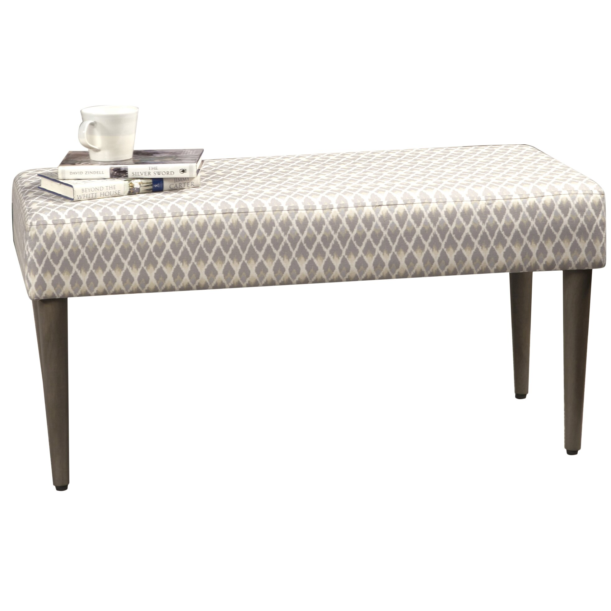 upholstered bedroom bench by homepop